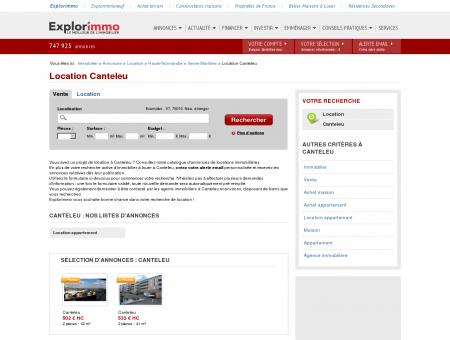 Location Canteleu : immobilier à louer Canteleu