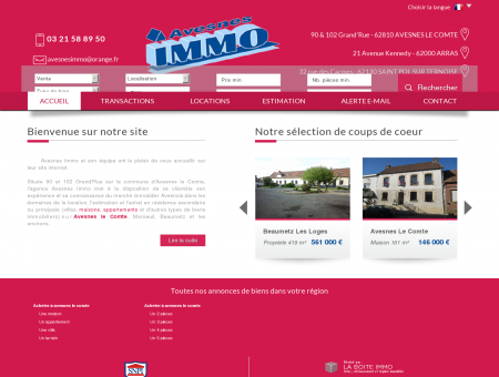 Avesnes immo - vente et location immobiliere...