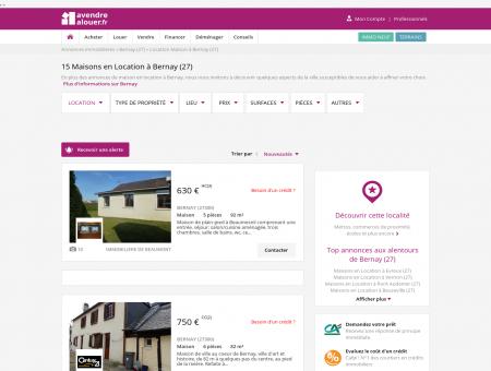 Location Maison Bernay (27) | Louer Maison...