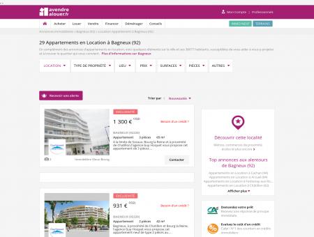 Location Appartement Bagneux (92) | Louer...
