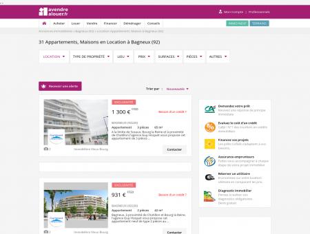 Location Bagneux | avendrealouer.fr