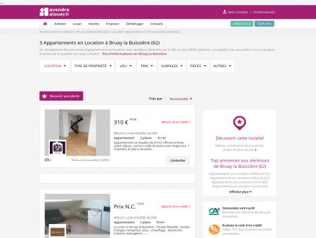 Location Appartement Bruay la Buissière (62)  ...