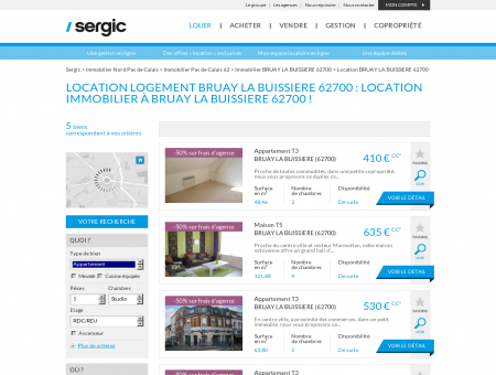 Location BRUAY LA BUISSIERE 62700 :...