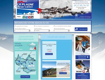 Location Appartement Ski | laplagne-reservation.fr