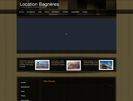 Location Bagnères
