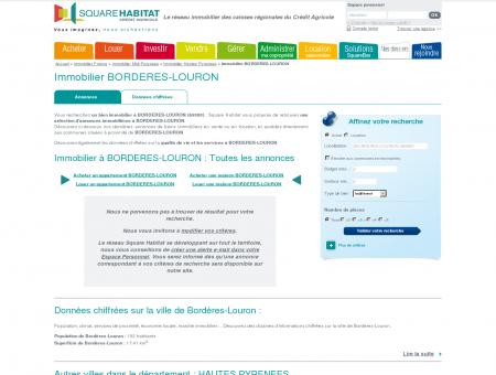 Immobilier BORDERES-LOURON 65590 :...