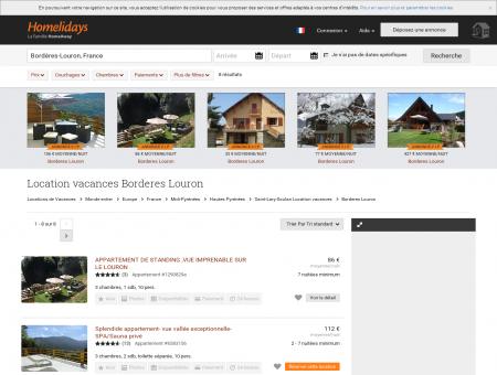 Location vacances Borderes Louron : location...
