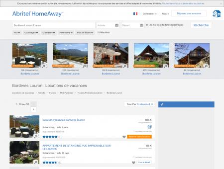 Location vacances Borderes Louron : toutes...