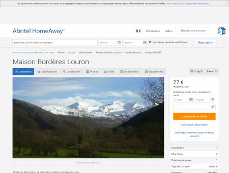 Maison Bordères Louron - Hautes-Pyrénées  ...