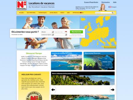 NOVASOL Vacances | novasol-vacances.fr