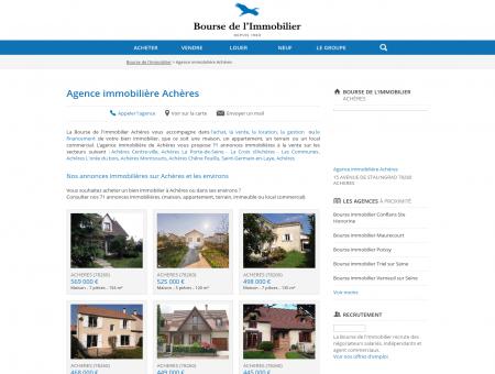 Agence immobilière Achères (78260), achat,...