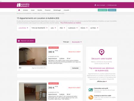 Location Appartement Aubière (63) | Louer...