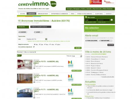 Location appartement Aubière (63170) -...