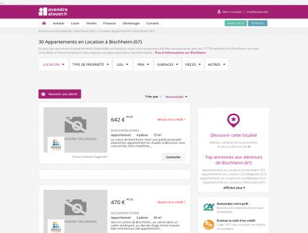 Location Appartement Bischheim (67) | Louer...