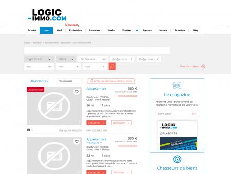 Location Bischheim | logic-Immo.com
