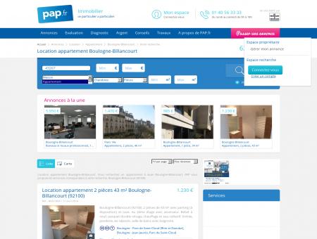 Location appartement Boulogne-Billancourt -...