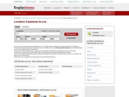Location Castelnau-le-Lez : immobilier à louer...