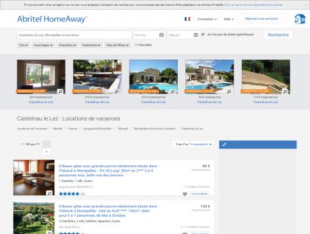Location Vacances Castelnau le Lez, location...
