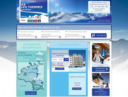 Location Ax les thermes - Station de ski Ariege