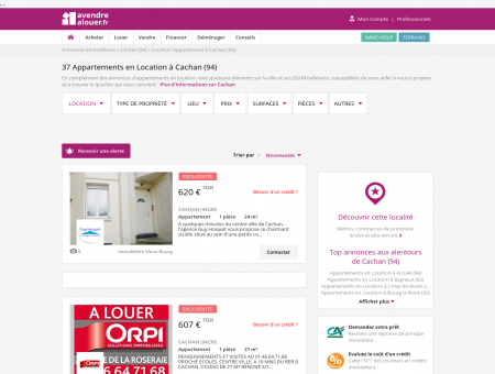 Location Appartement Cachan (94) | Louer...