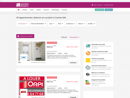 Location Cachan | avendrealouer.fr