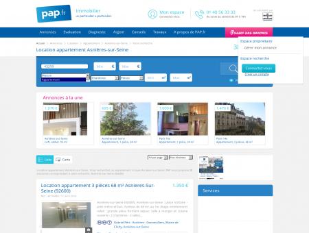 Location appartement Asnières-sur-Seine -...