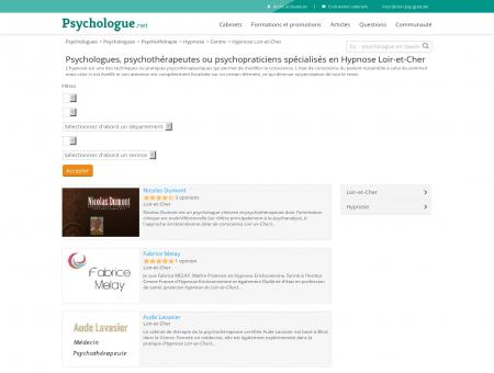 Hypnose Loir-et-Cher - Psychologue.net -...