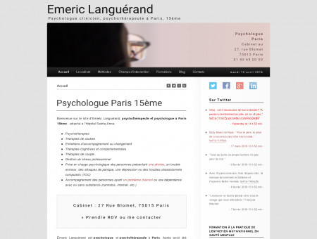 Emeric Languérand - Psychologue Paris 15 -...