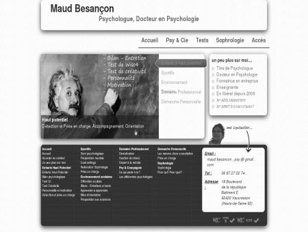 Maud Besançon. Psychologue, Docteur en...