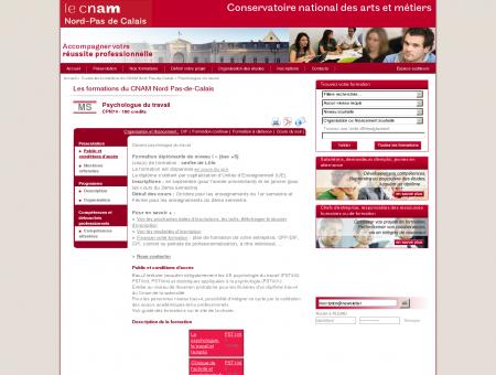 Psychologue du travail - Cnam centre de...