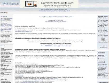 Psychologue.fr :: espace pro et informations...