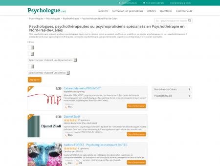 Psychothérapie Nord-Pas-de-Calais -...