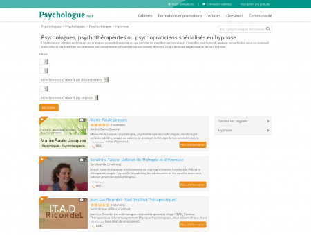 Hypnose - Psychologue.net