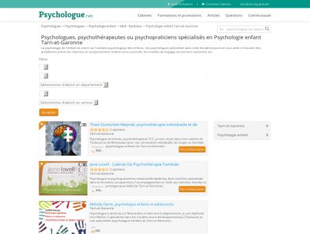 Psychologie enfant Tarn-et-Garonne -...