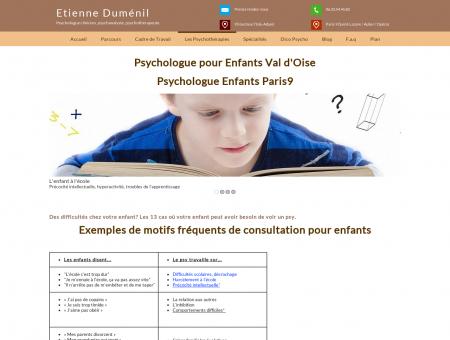 Psychologue pour enfant val d'Oise 95 et à...