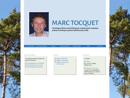 Marc Tocquet, psychologue clinicien,...