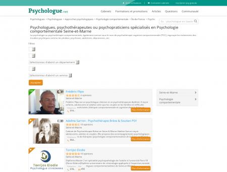 Psychologie comportementale Seine-et...