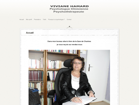 Viviane Hamard psychologue et...