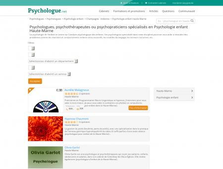 Psychologie enfant Haute-Marne -...