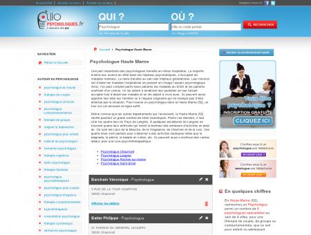 Psychologue Haute Marne 52 - Psychologue ...