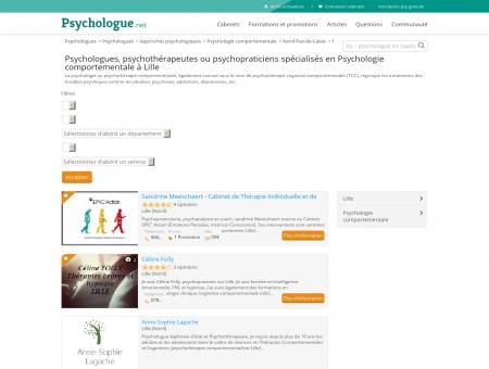 Psychologie comportementale Lille -...