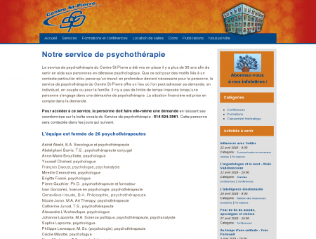 Psychologue Montréal Psychothérapie Centre...
