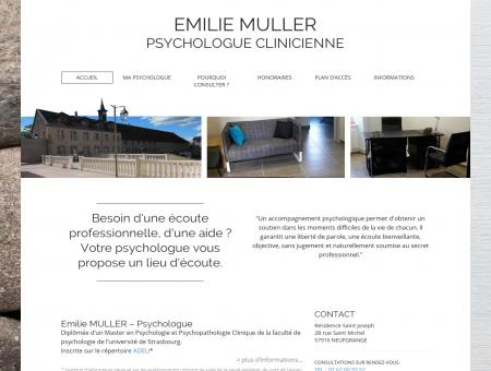 Une écoute professionnelle - EMILIE MULLER