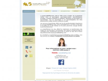 InstitutPsy.com - Psychologues et...