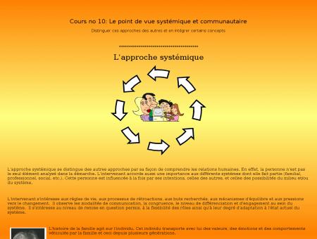L'approche systémique - Dépression, suicide,...