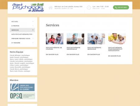 Services de psychothérapie | Clinique de...