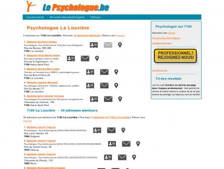Psychologue La Louvière - Le Psychologue...