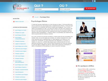 Psychologue Rhône 69 - Psychologue -...