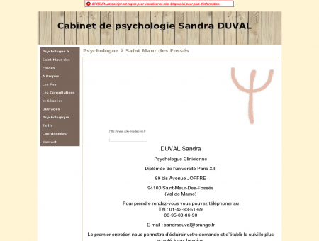 Psychologue à Saint Maur des Fossés