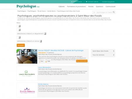 Psychologues Saint-Maur-des-Fossés -...
